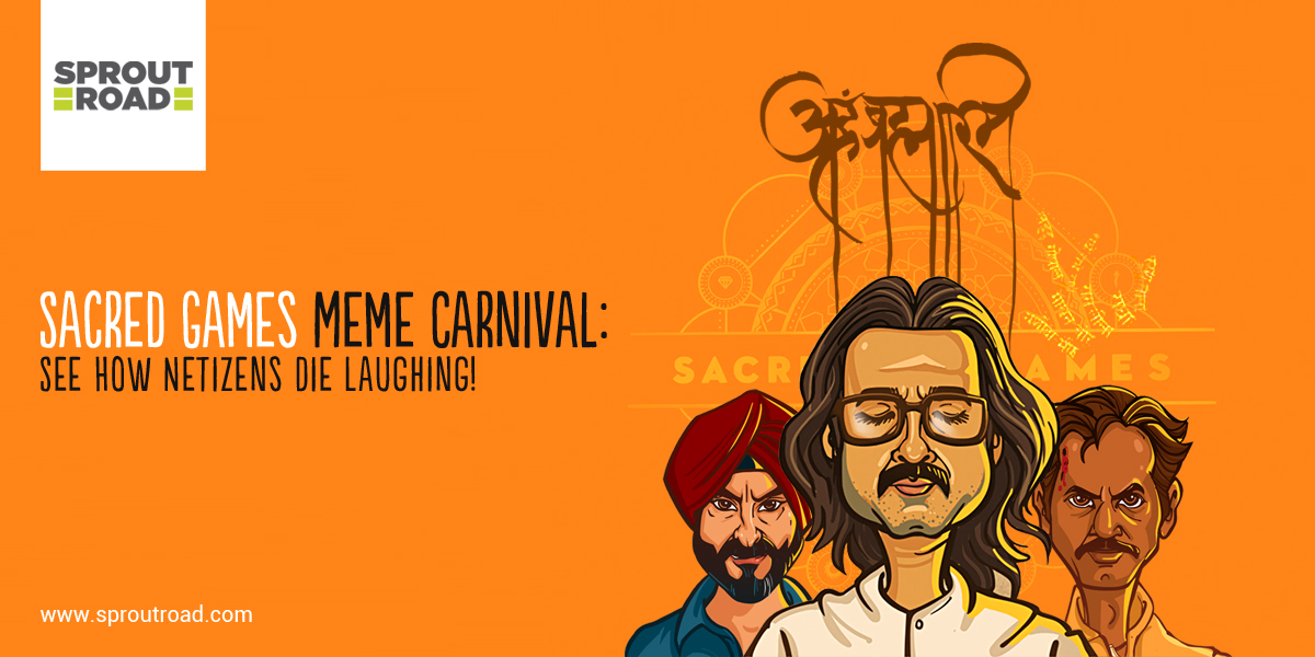 Sacred Games Meme Carnival: See How Netizens Die Laughing!